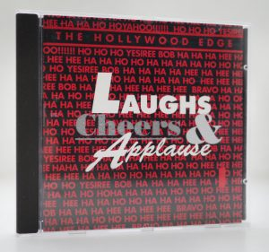 CD-Cover: The Hollywood Edge - Laughs, Cheers & Applause