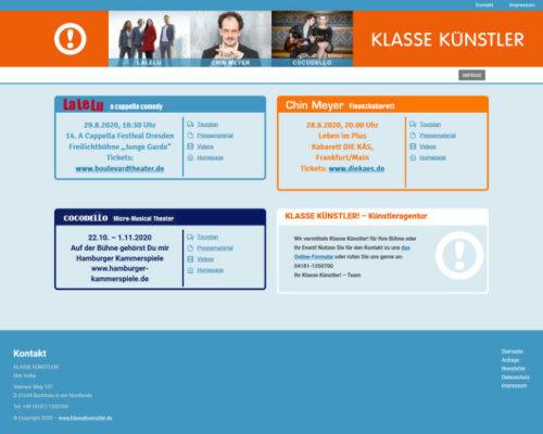 Website: klassekuenstler.de